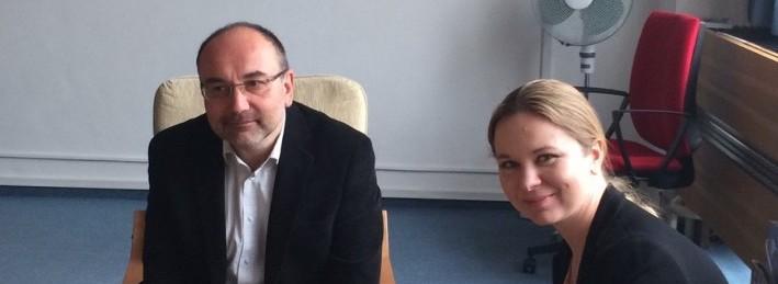 Univerzita uzavřela smlouvu o spolupráci se společností Faurecia