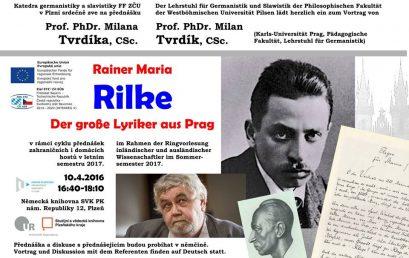 Zajímá vás německá literatura? Nenechte si ujít přednášku předního českého germanisty!