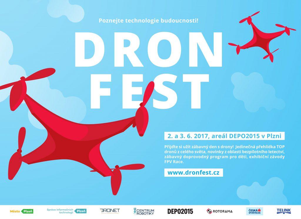 Technické fakulty ZČU se představí na DronFestu