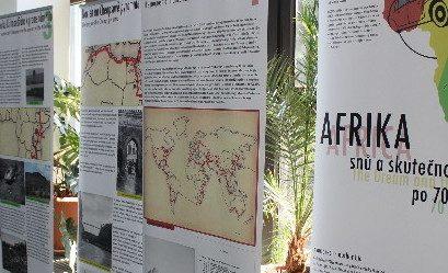 Výstava Afrika snů a skutečností po 70 letech je ke zhlédnutí na univerzitě