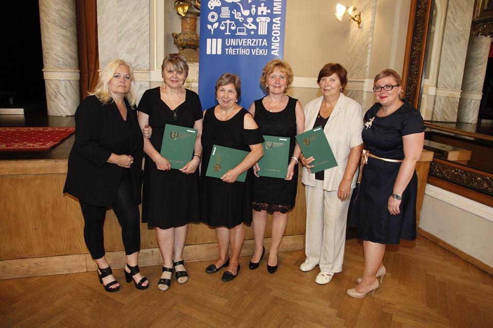 Na konci června se konaly promoce Univerzity třetího věku ZČU v Plzni